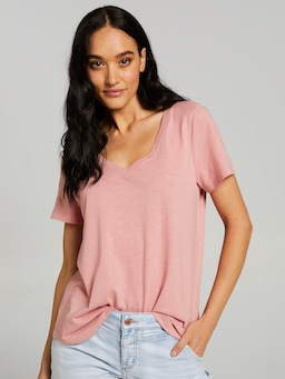 The Perfect V Boyfriend Tee