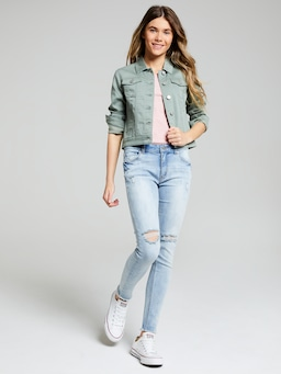 Girls Amaze Trucker Jacket