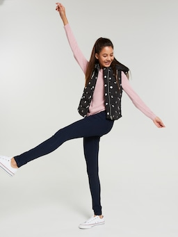 Girls Paige Quilted Puffer