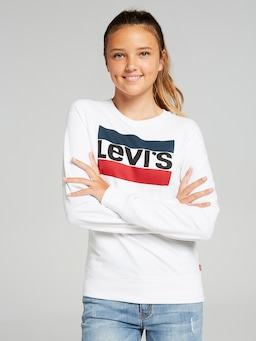 Girls Levi's Logo Crew Sweat
