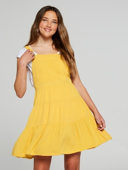Girls Summer Frill Dress