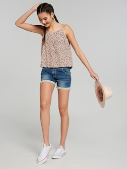Girls Anika Printed Svl Tank