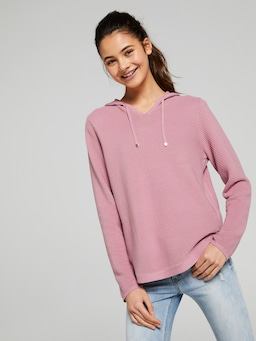Girls Alexis Hooded Knit