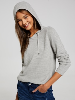 Girls Talia Hooded Knit