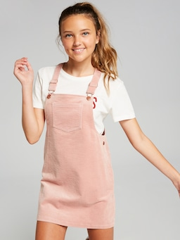 Girls Annie Cord Pinny