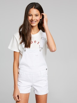 Girls Riders Dungaree Short