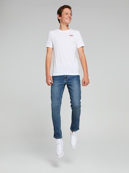 Boys Levis Batwing Chest Hit Tee