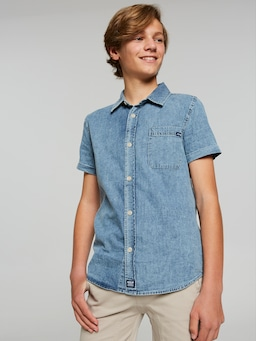 Boys Riders Short Sleeve Shirt