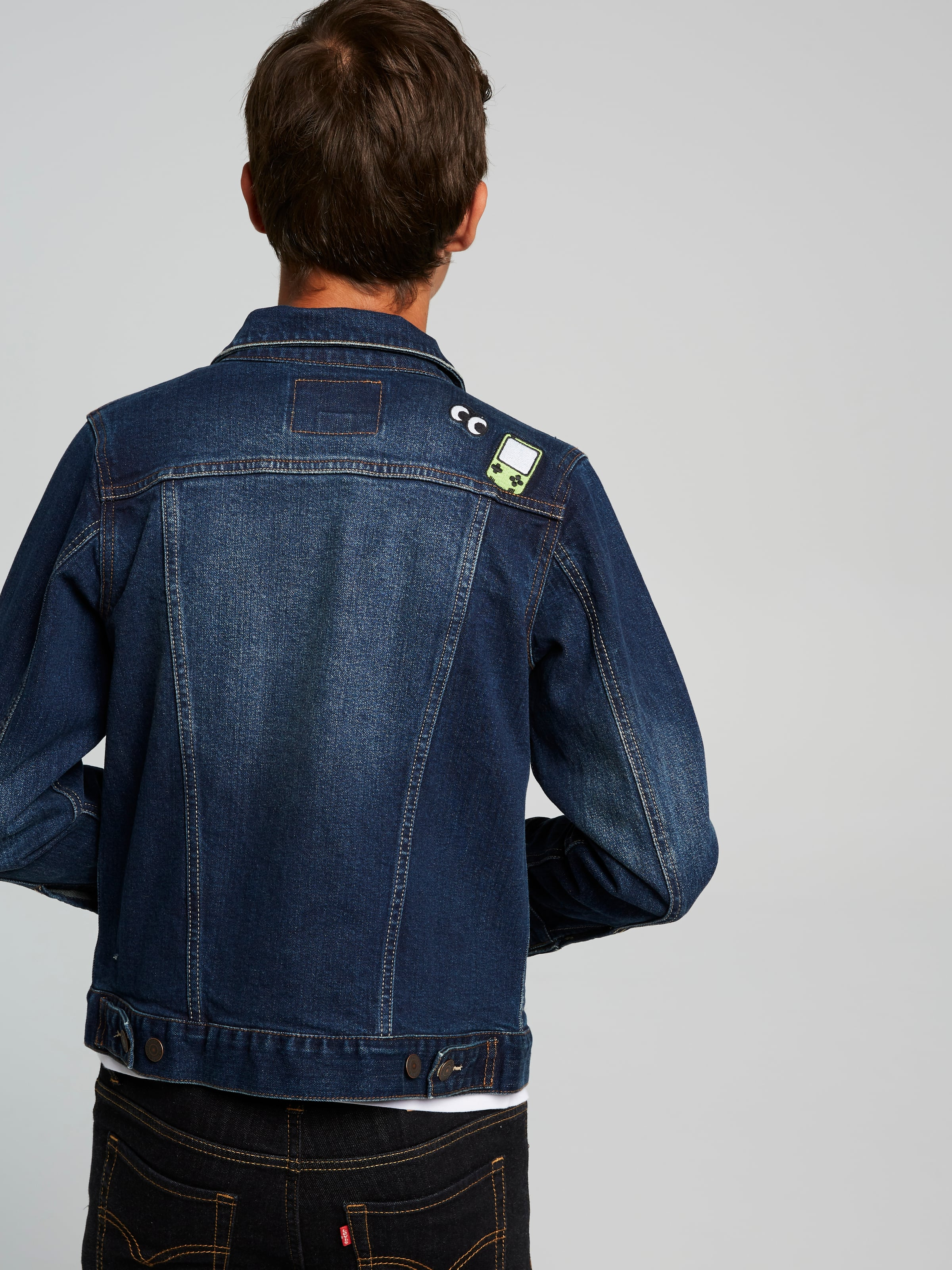 860694eacbe94 ... Image for Levi s Boys Trucker Jacket from Just Jeans ...