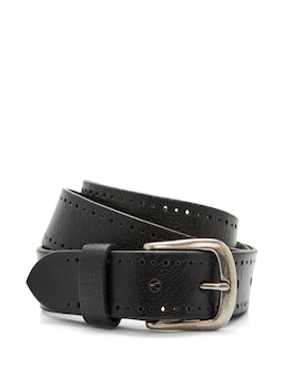 Matt Leather Punch Belt