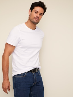 Slim Reversible Leather Belt