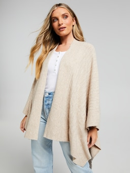 Elodie Knitted Wrap