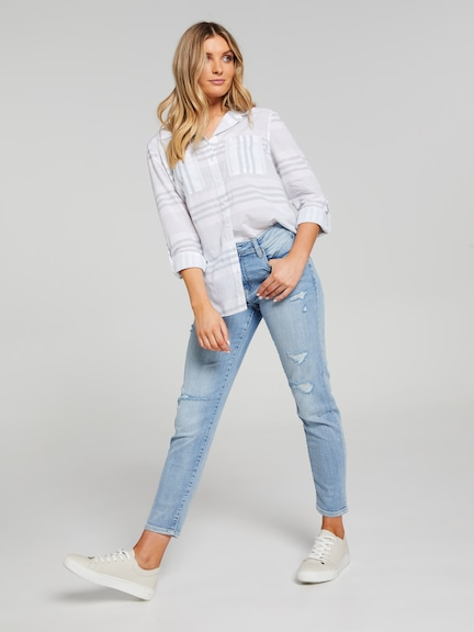 Hanna Relaxed Ls Shirt