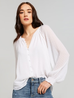 Lydia Lace Insert Top