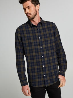 Highlight Check Long Sleeve Shirt