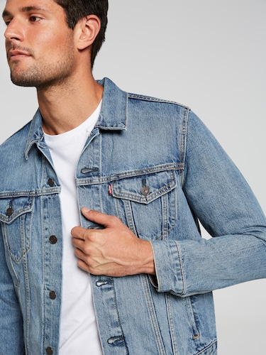 Levi's Trucker Jacket In Icy
