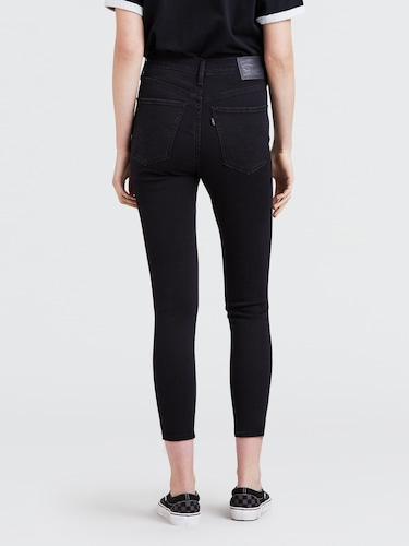 Levis Mile High Super Skinny In Rock Out Black