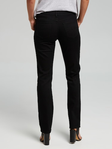 Classic Straight Mid Rise Full Length Jean
