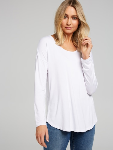 The Luxe Scoop Long Sleeve