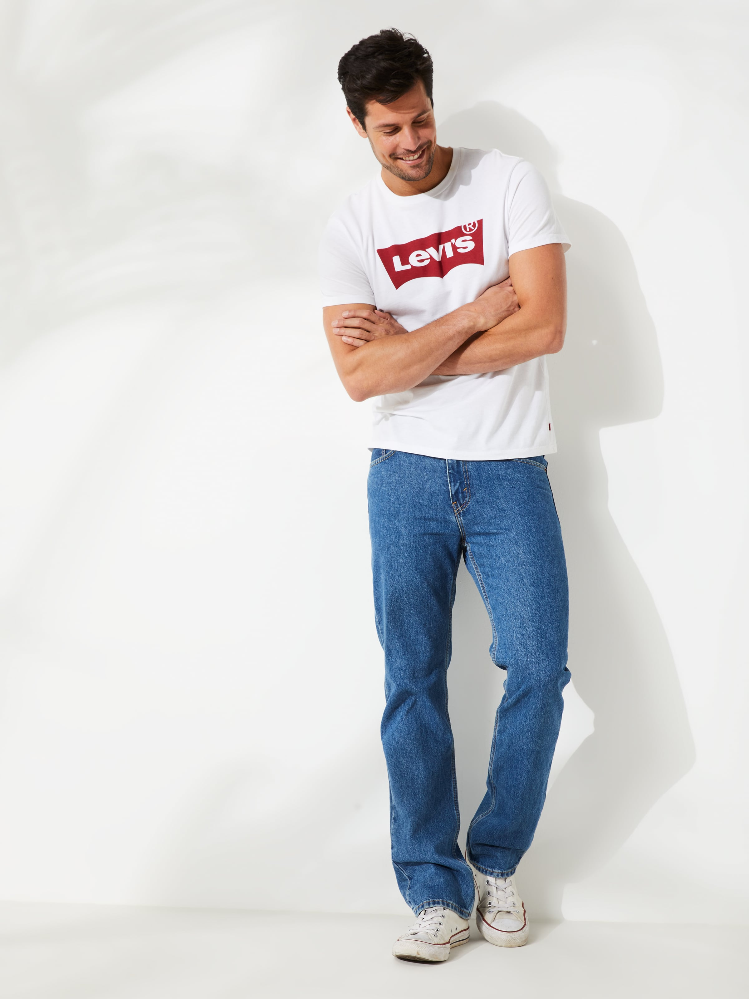 Levi's 516 Straight In Stonewash