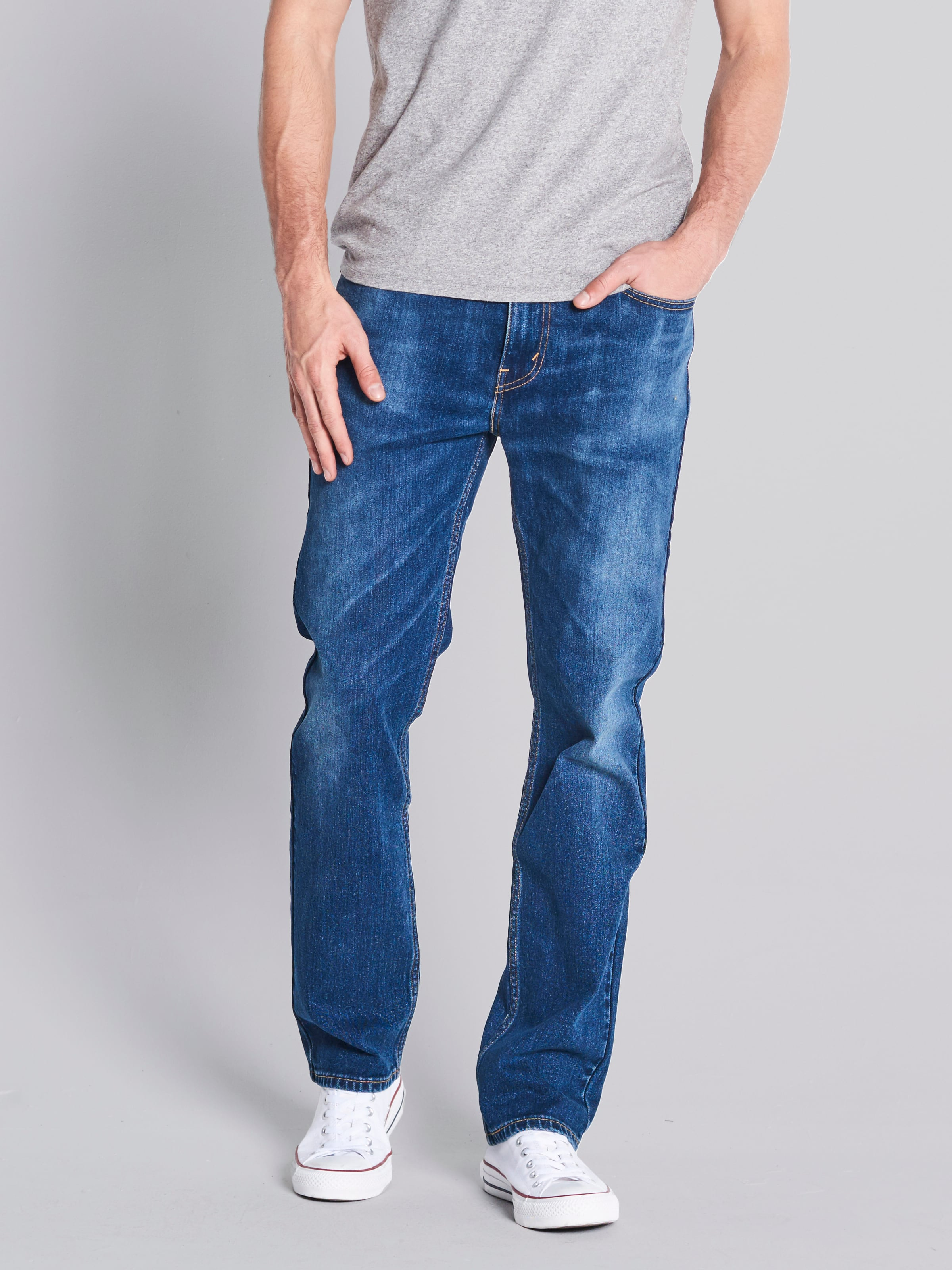 Levi's 516 Slim Fit Straight Flotsam