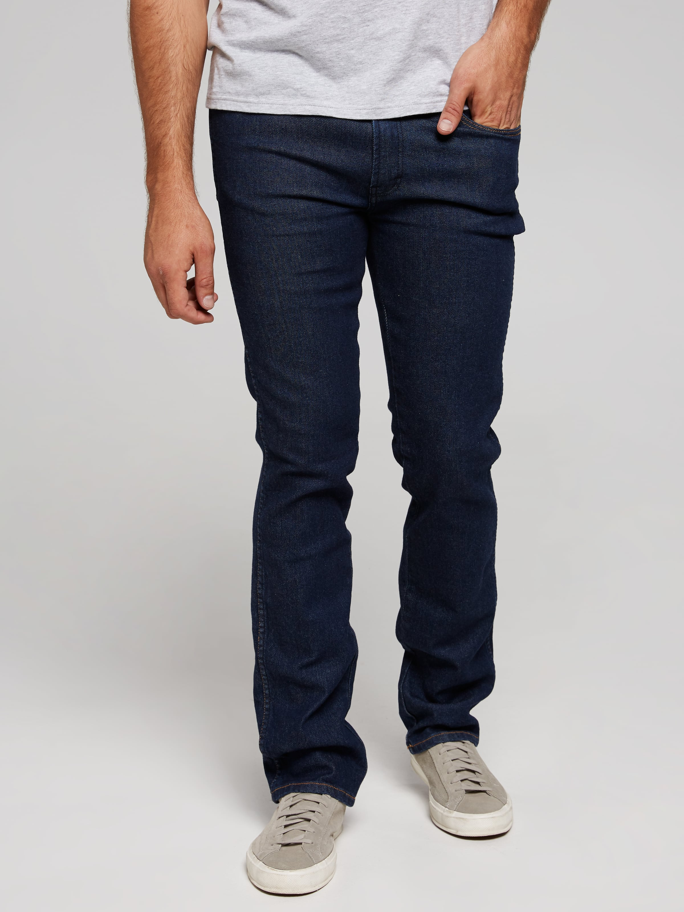 Wrangler Classics Stretch Straight Jean In Rinse Wash