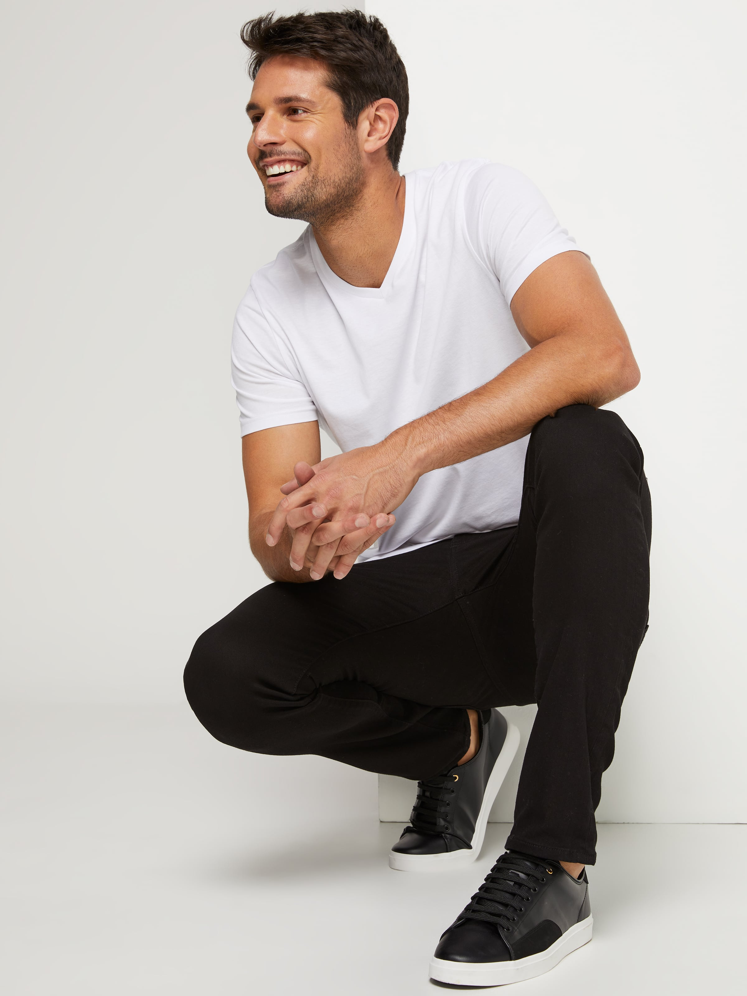 Riders By Lee R1 Skinny Stretch New Black.