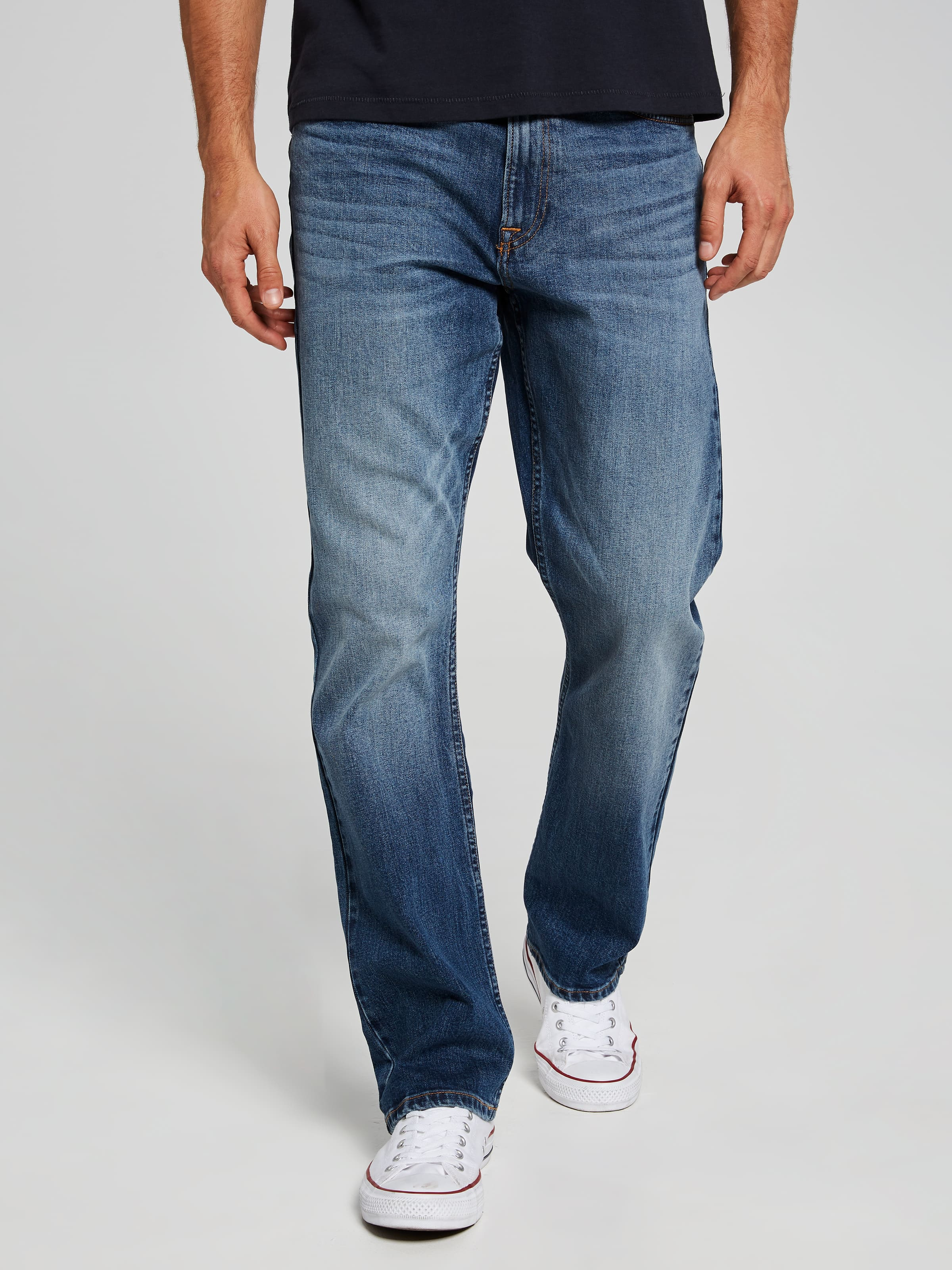 Calvin Klein Relax Straight Houston Mid Rise