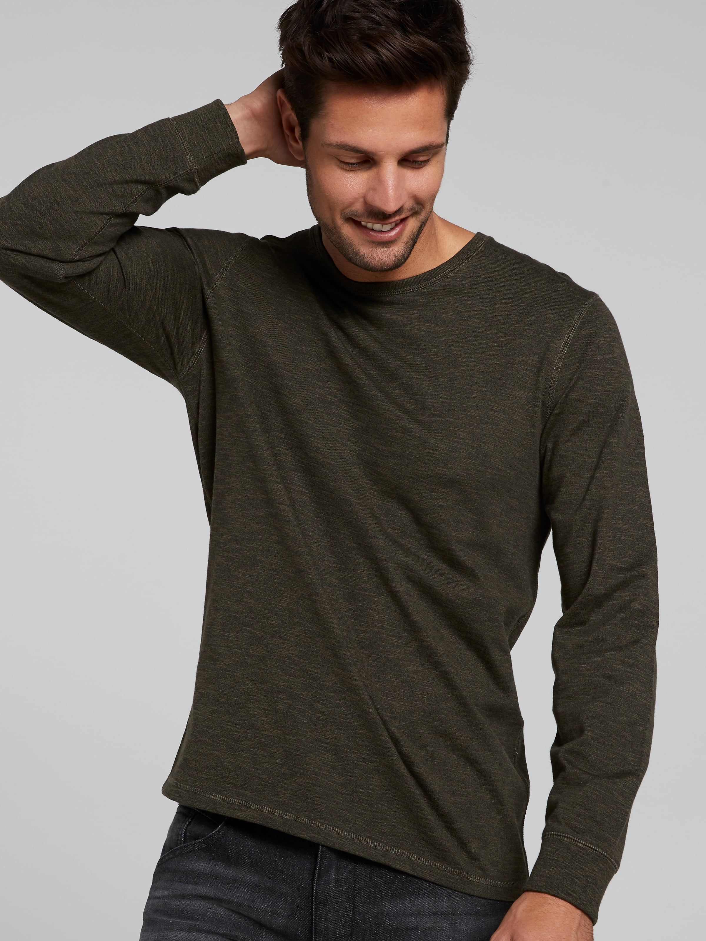 Long Sleeve Utility Crew